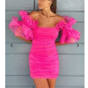 BRAND NEW Club London Pink Dress